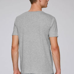 T-Shirt grey - back