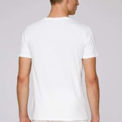 T-Shirt white man - back