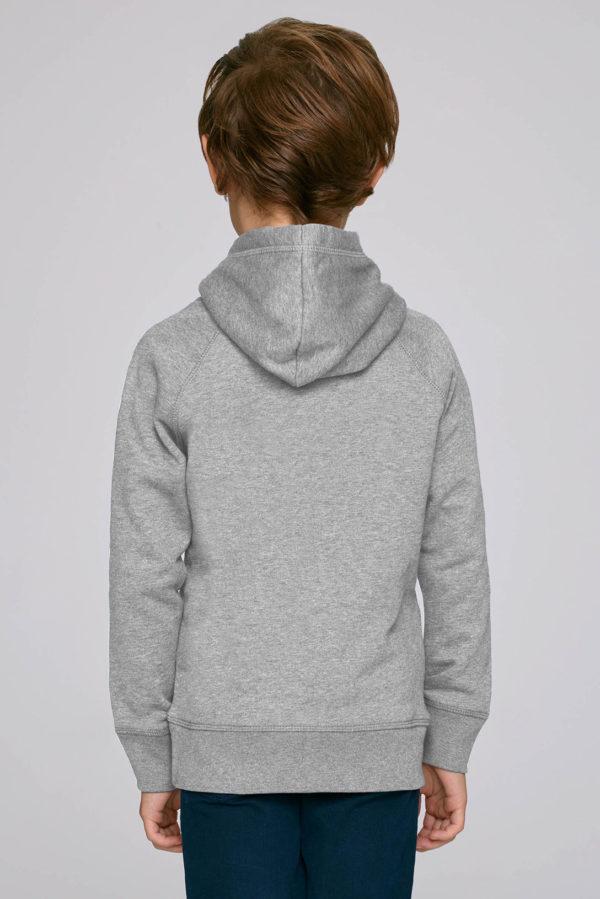 Hoodie Proud Member grey back